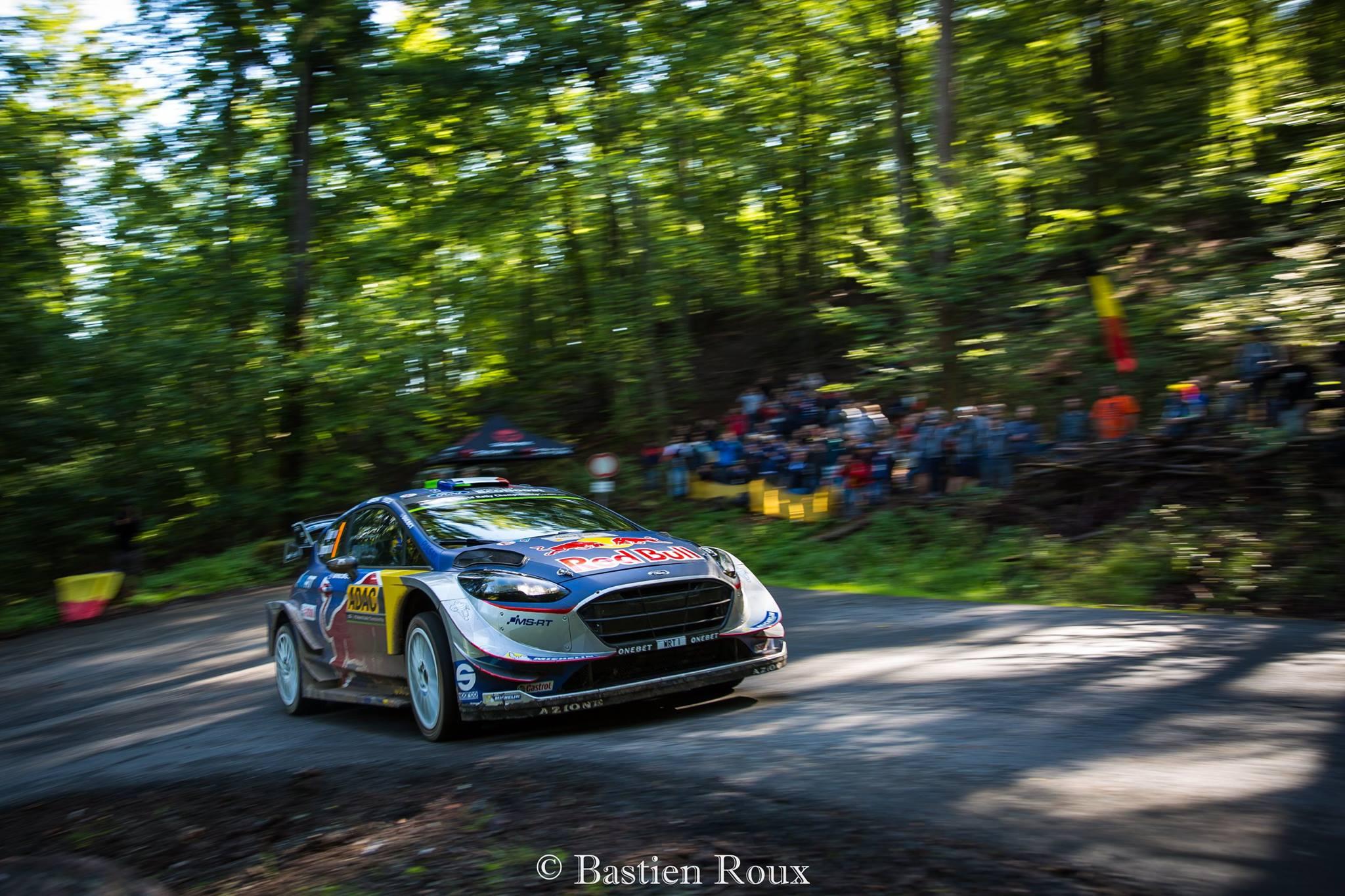 Championnat du WRC Ogier