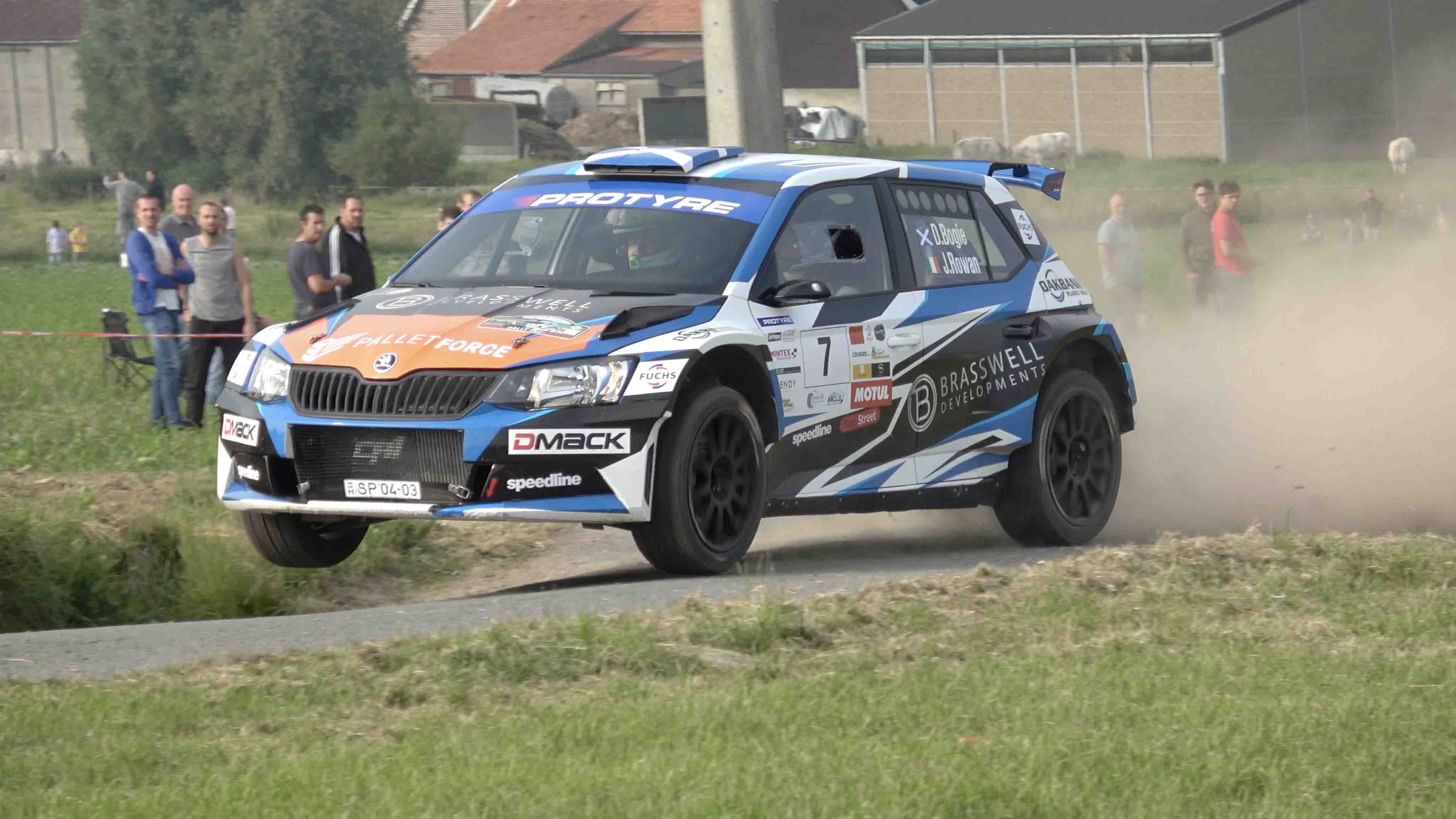 Vidéo Rally van Wervik 2018