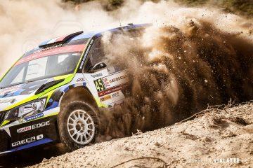 Julien Maurin Skoda Fabia R5 Rally Sardegna 2016