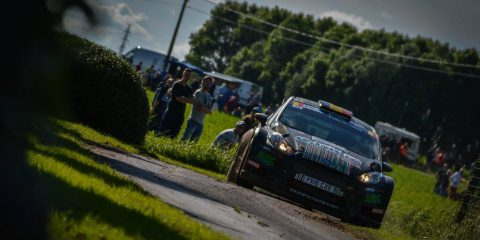 Bernd Casier Ypres Rally