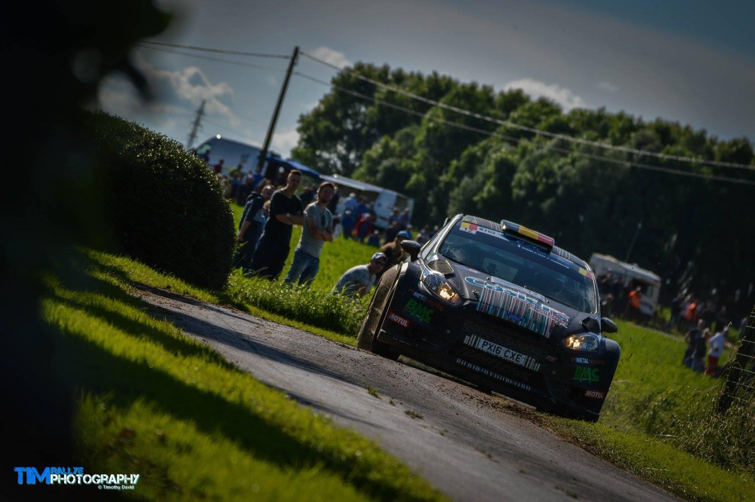 Bernd Casier Ypres Rally