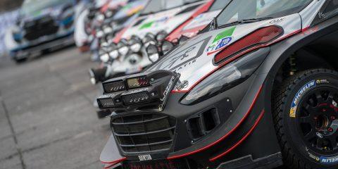 Bertelli WRC Test réglementation