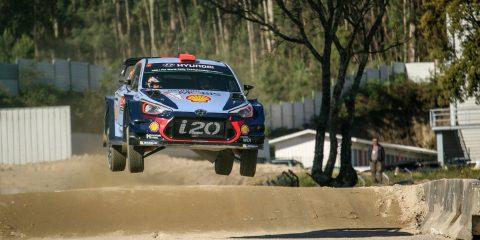Dani Sordo shakedown du rallye duPortugal 2017