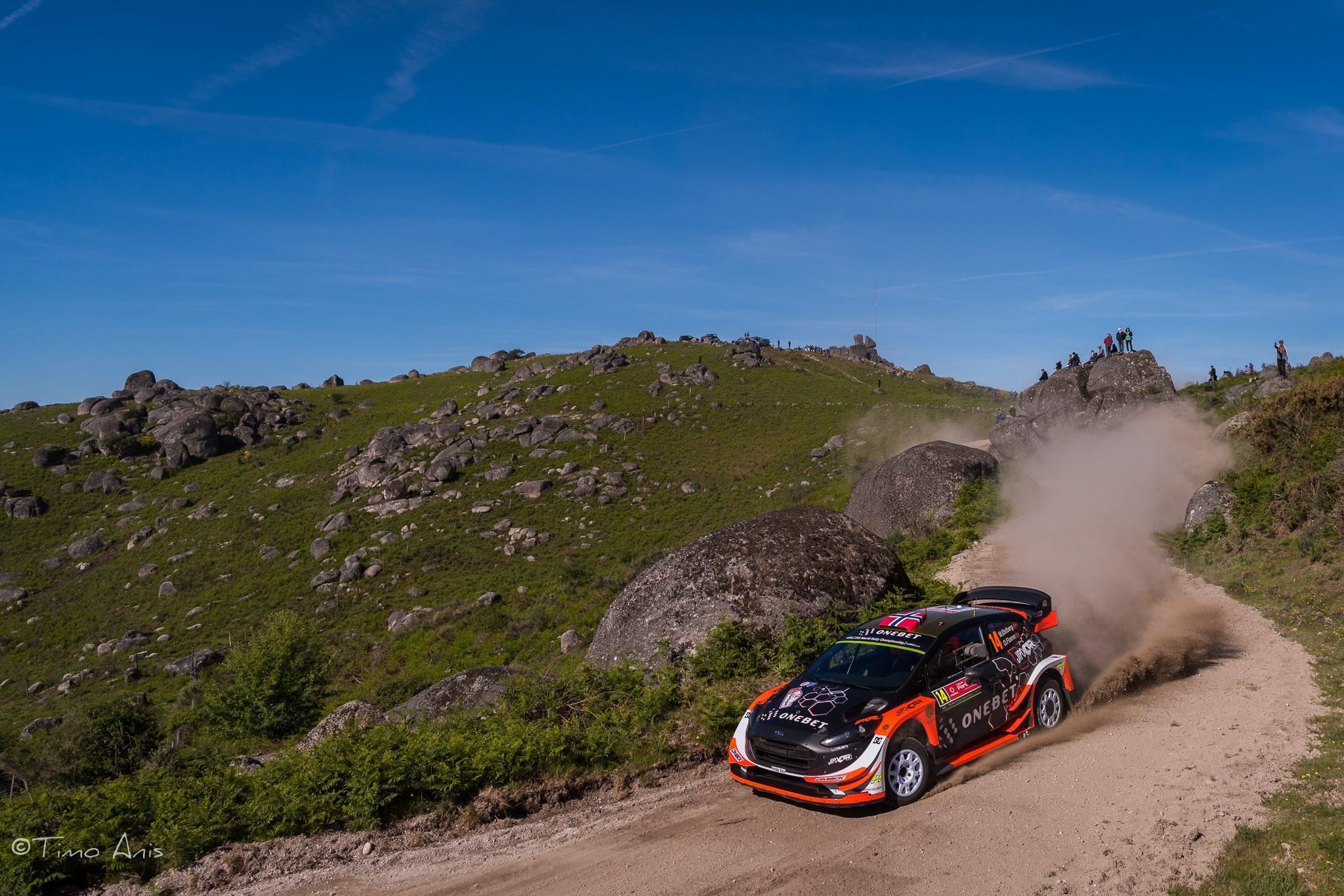 Ostberg WRC Test