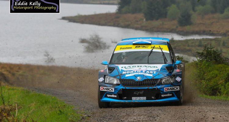 David Bogie RSAC Scottish Rally 2017