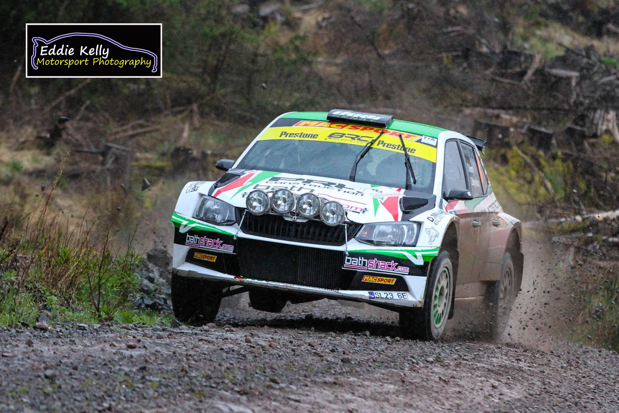 Desi Henry RSAC Scottish Rally 2017