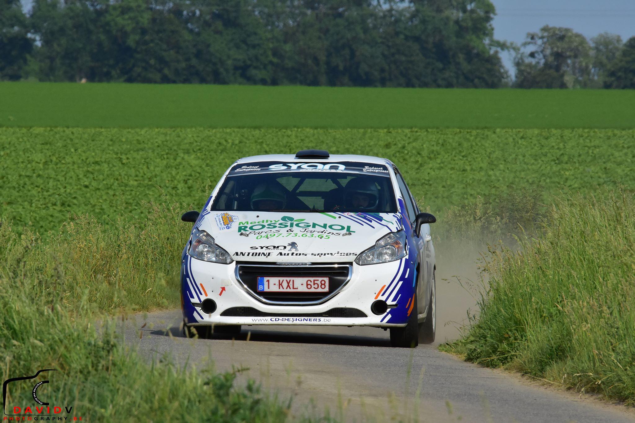 Walbrecq Rallye Claudy Desoil 2017