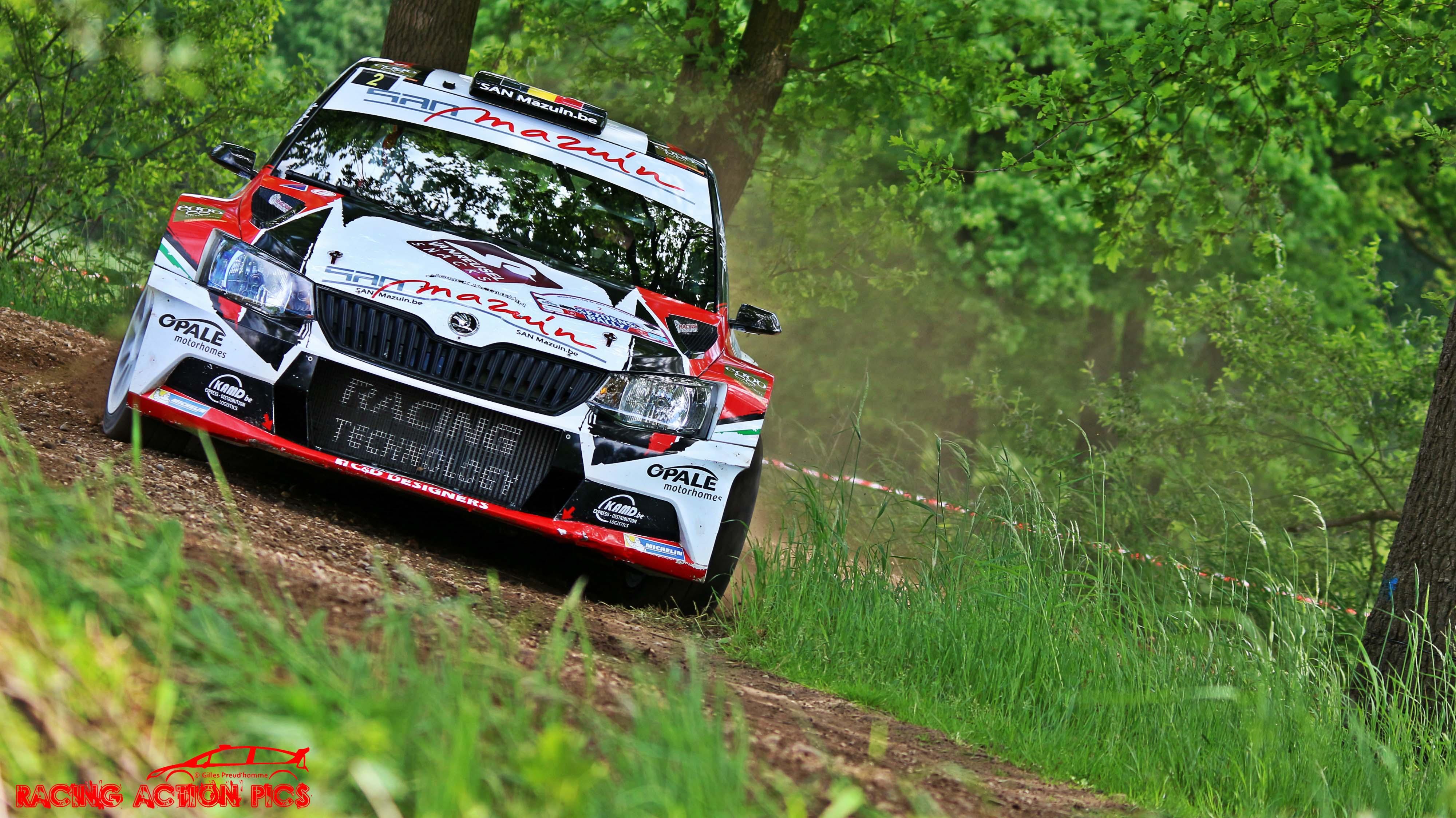 Benoit Allart Sezoens Rally 2017