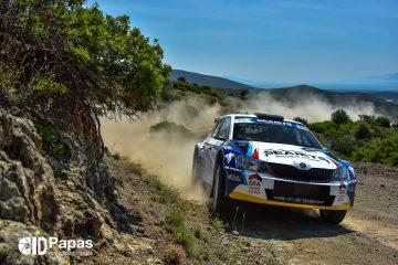 Magalhaes Championnat ERC Acropolis Rally 2017