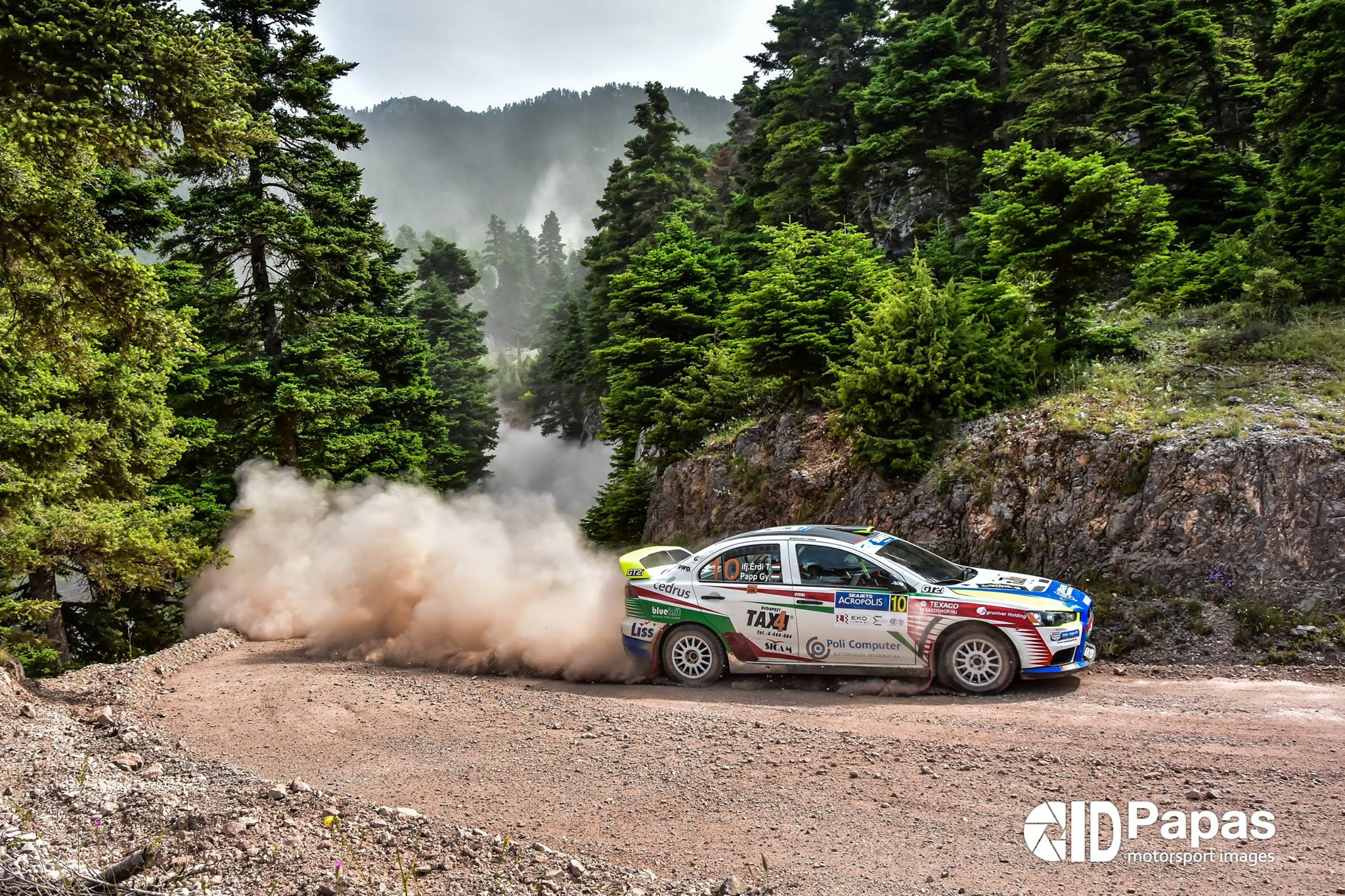 Erdi Championnat ERC Acropolis Rally 2017