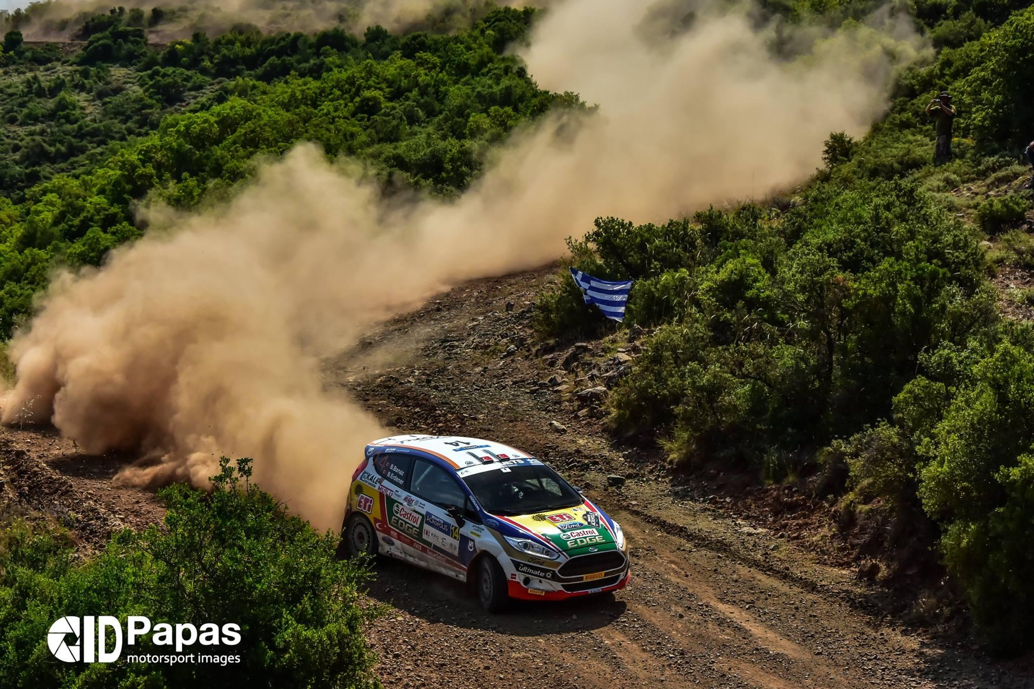 Banaz Championnat ERC Acropolis Rally 2017