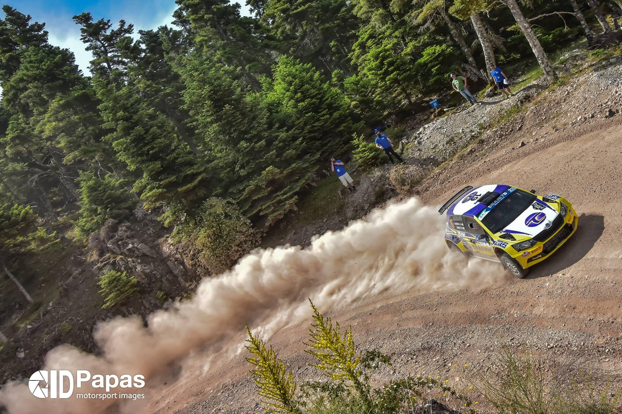 Tsolakidis ERC Acropolis Rally 2017