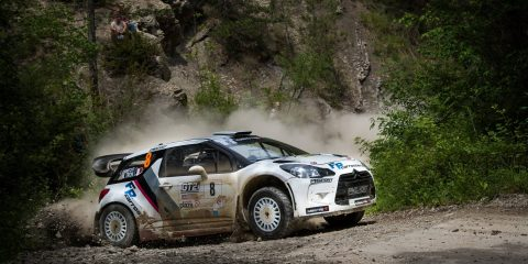Tron Rallye terre du Diois 2017