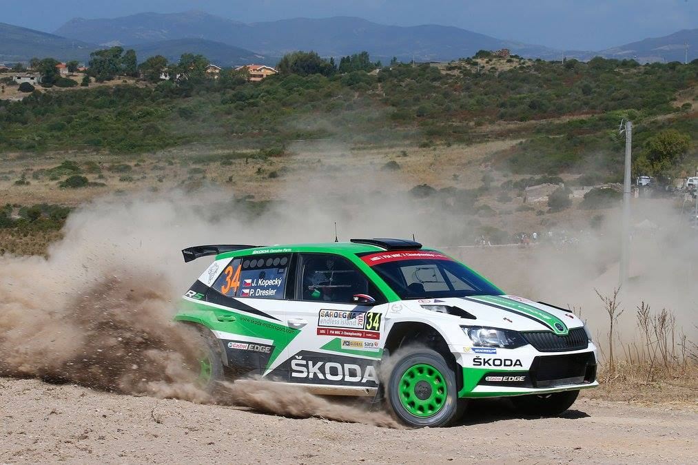 Kopecky Rally Italia Sardegna 2017