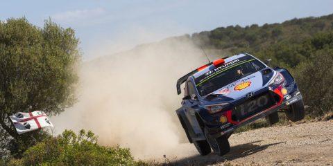 Sordo Rally Sardegna 2017 shakedown