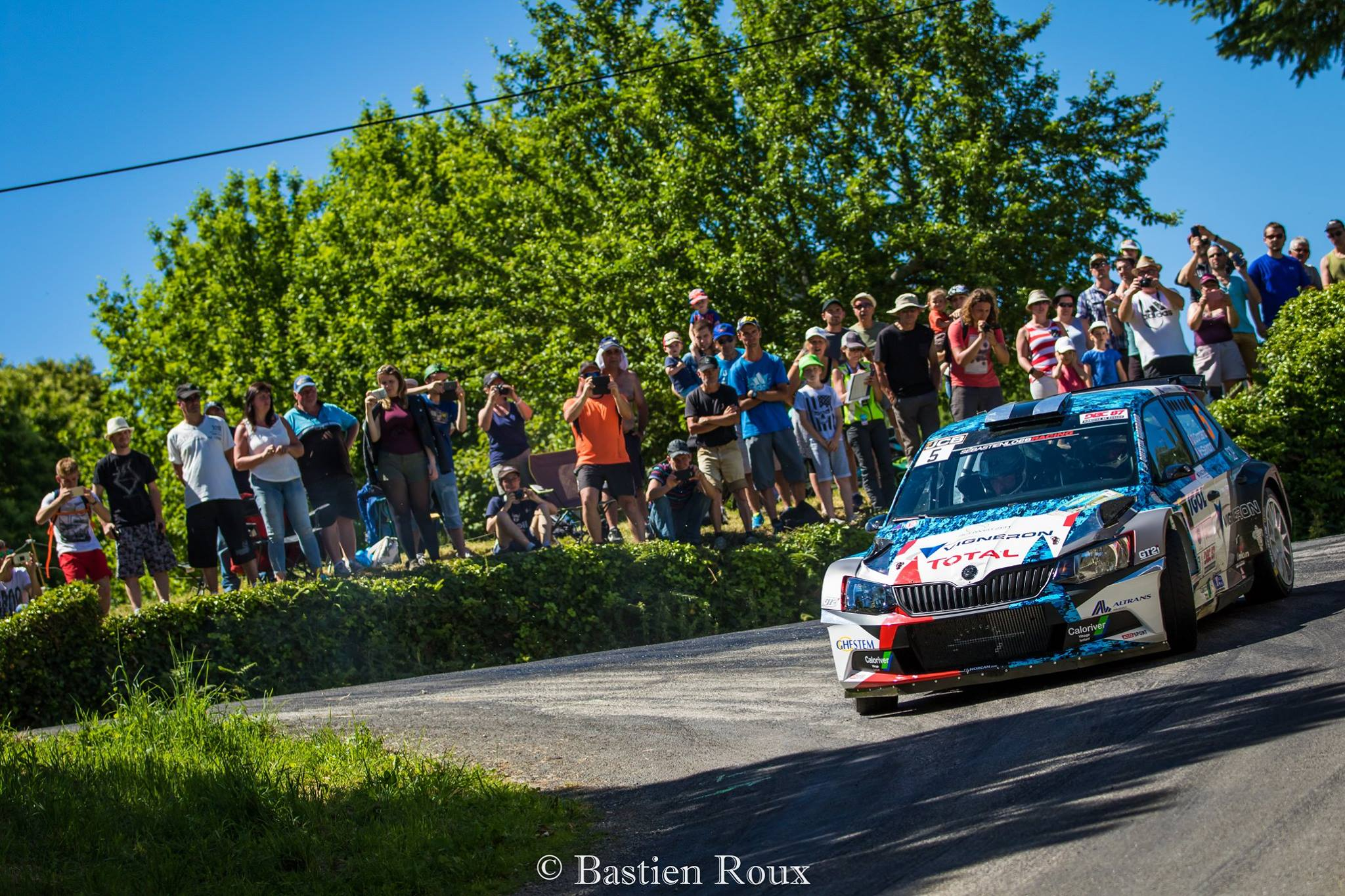 Giordano Rallye du Limousin 2017