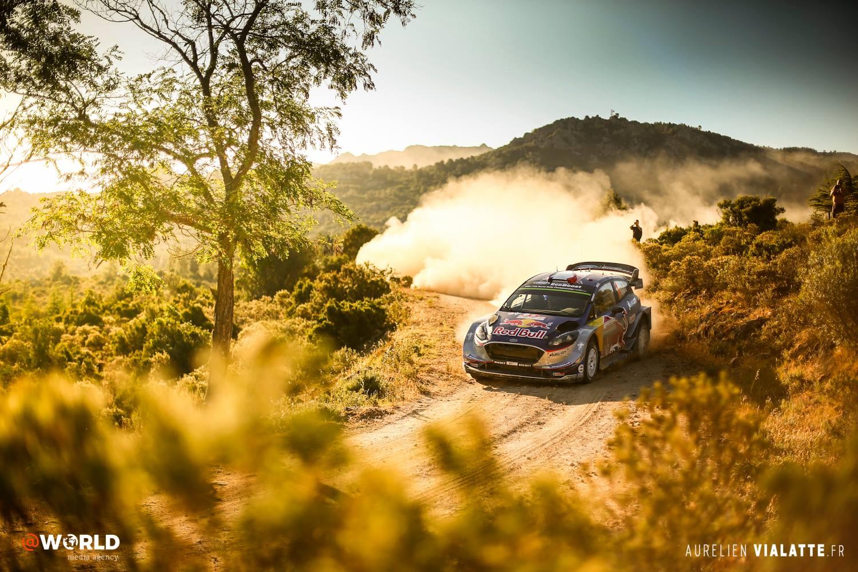 Ogier WRC Classement Sardegna 2017