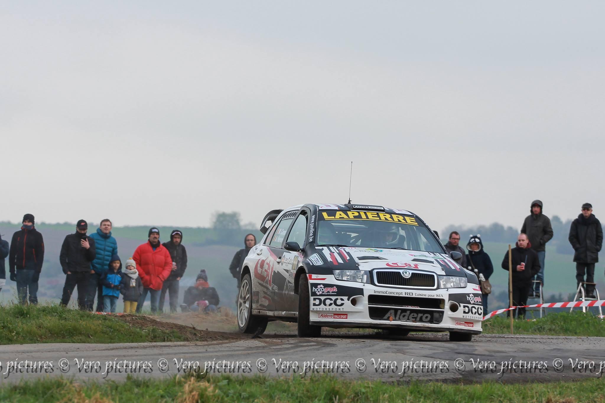 Manuel Canal-Roblès en Skoda Fabia WRC