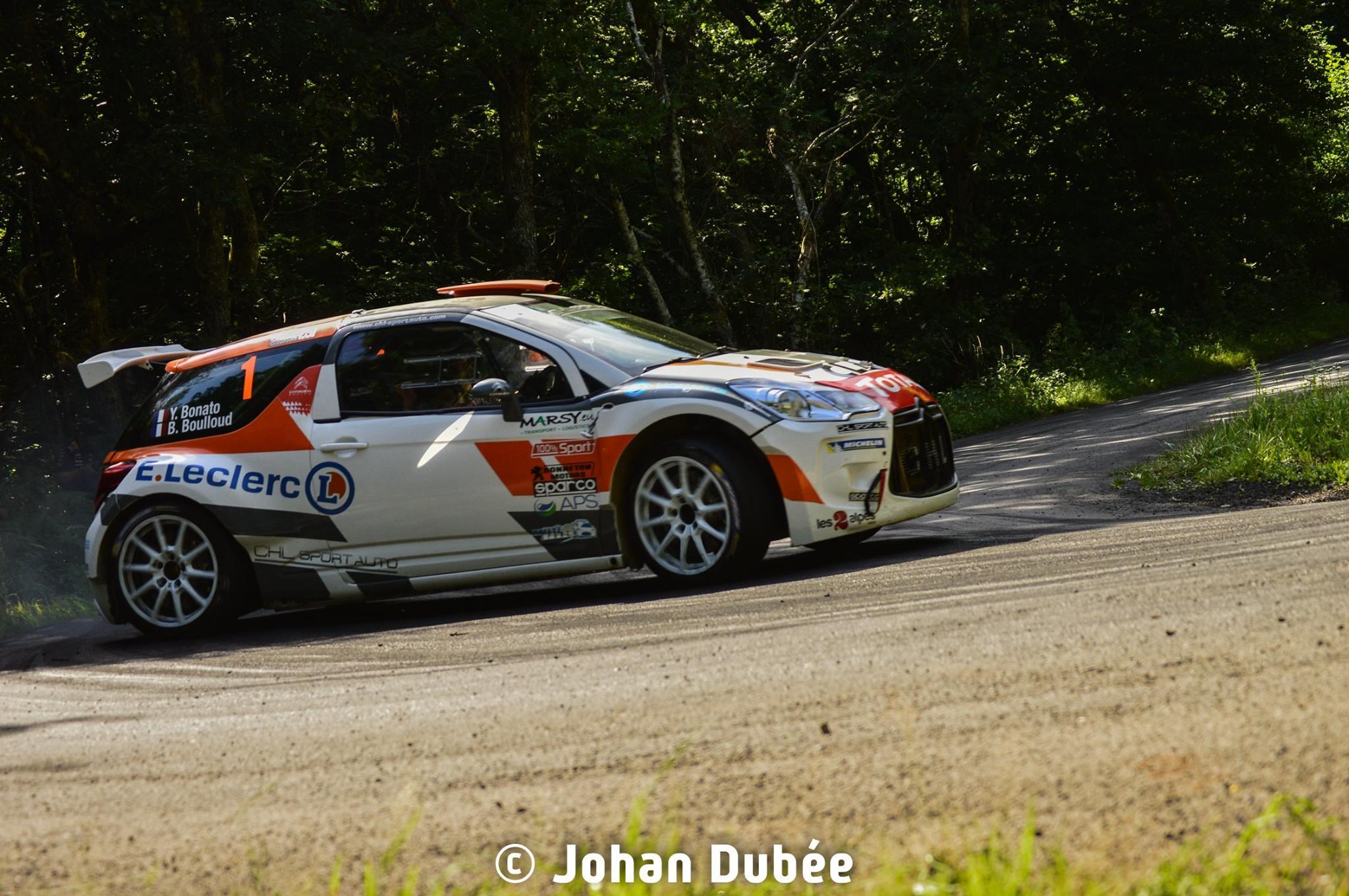Bonato Rallye du Rouergue 2017