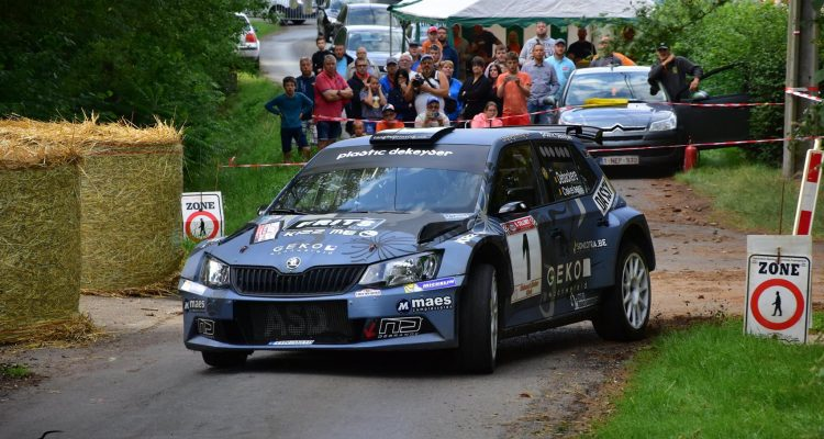 Debackere Rallye-Sprint Solre Saint-Géry 2017