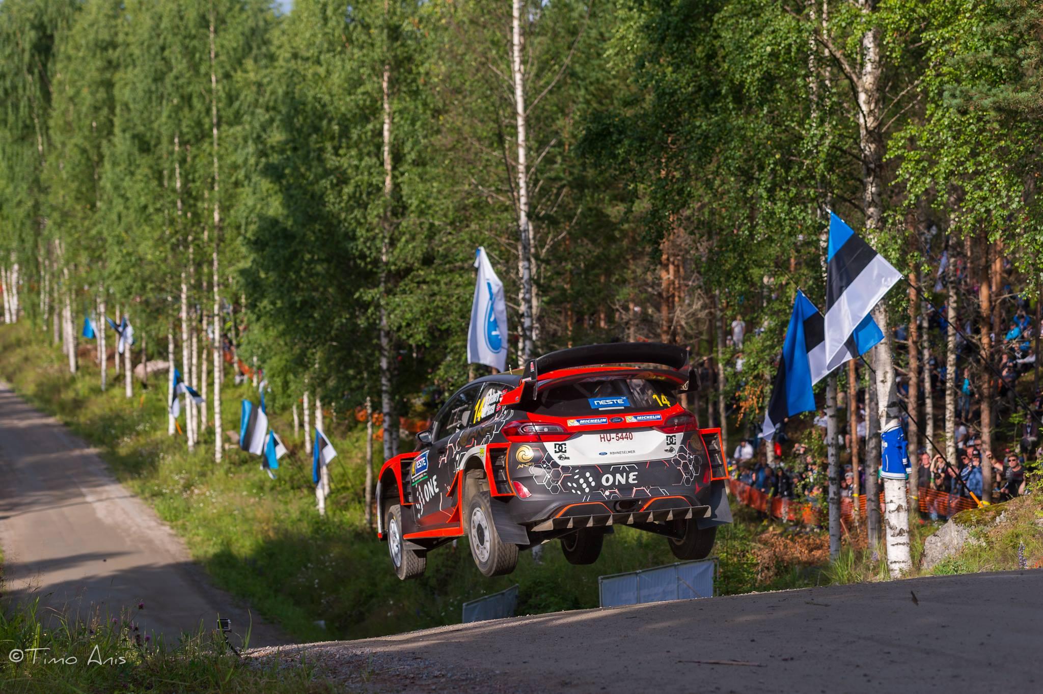 Ostberg NESTE Rally Finland 2017
