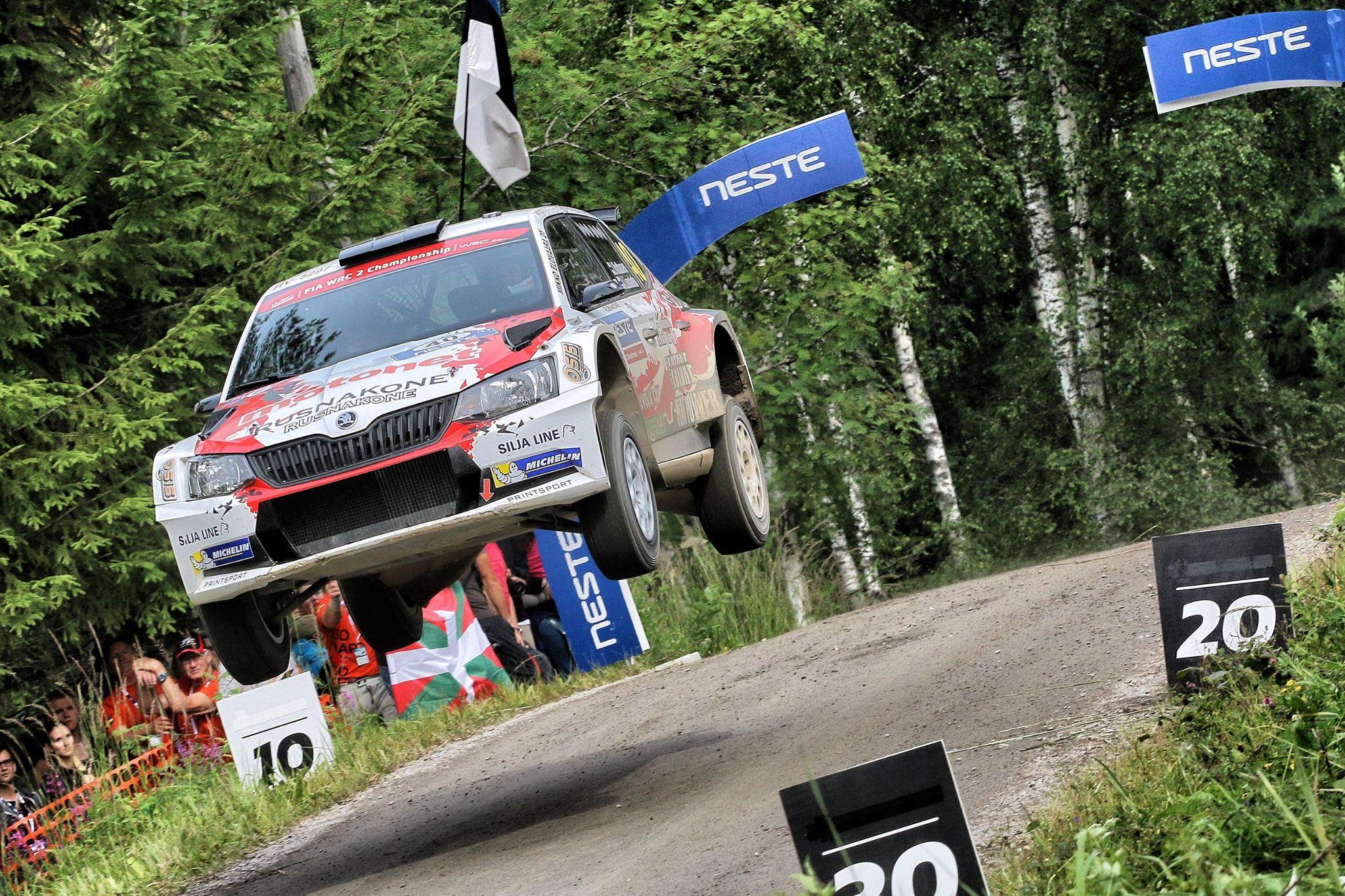 Huttunen NESTE Rally Finland 2017