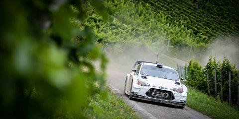 Neuville Test Rallye Deutschland 2017