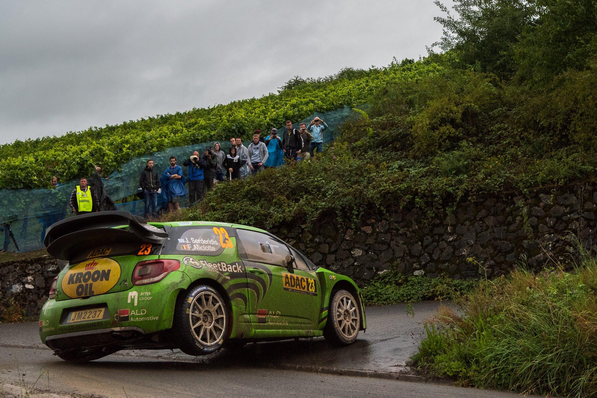 Championnat du WRC Serderidis