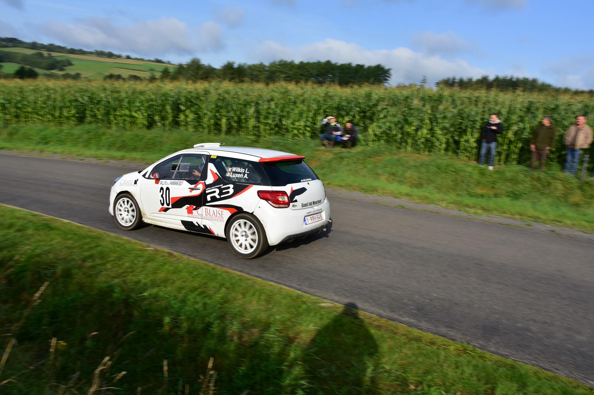 Rallye de la Famenne 2017 Wilkin