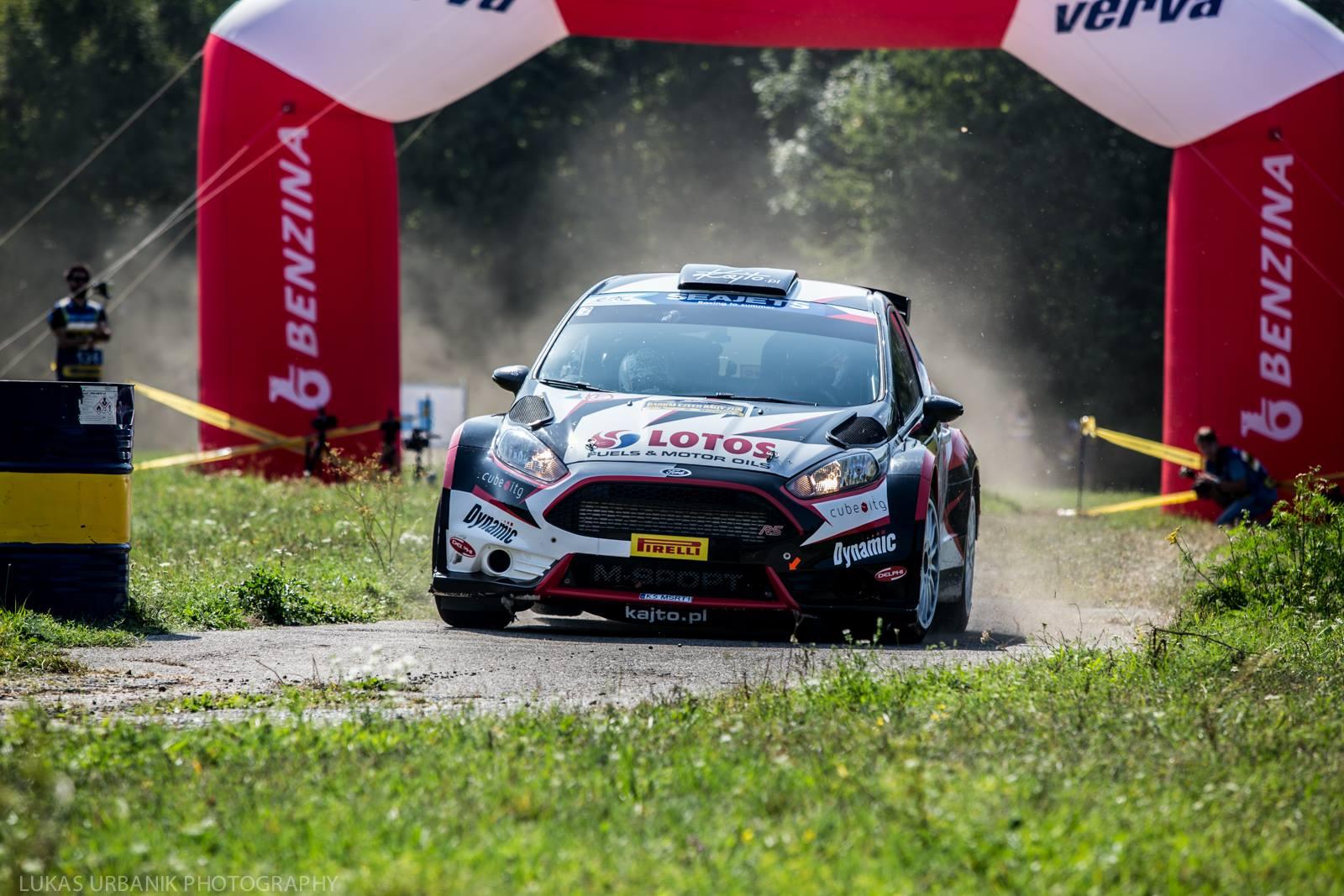 Barum Czech Rally Zlin 2017 Kajetanowicz