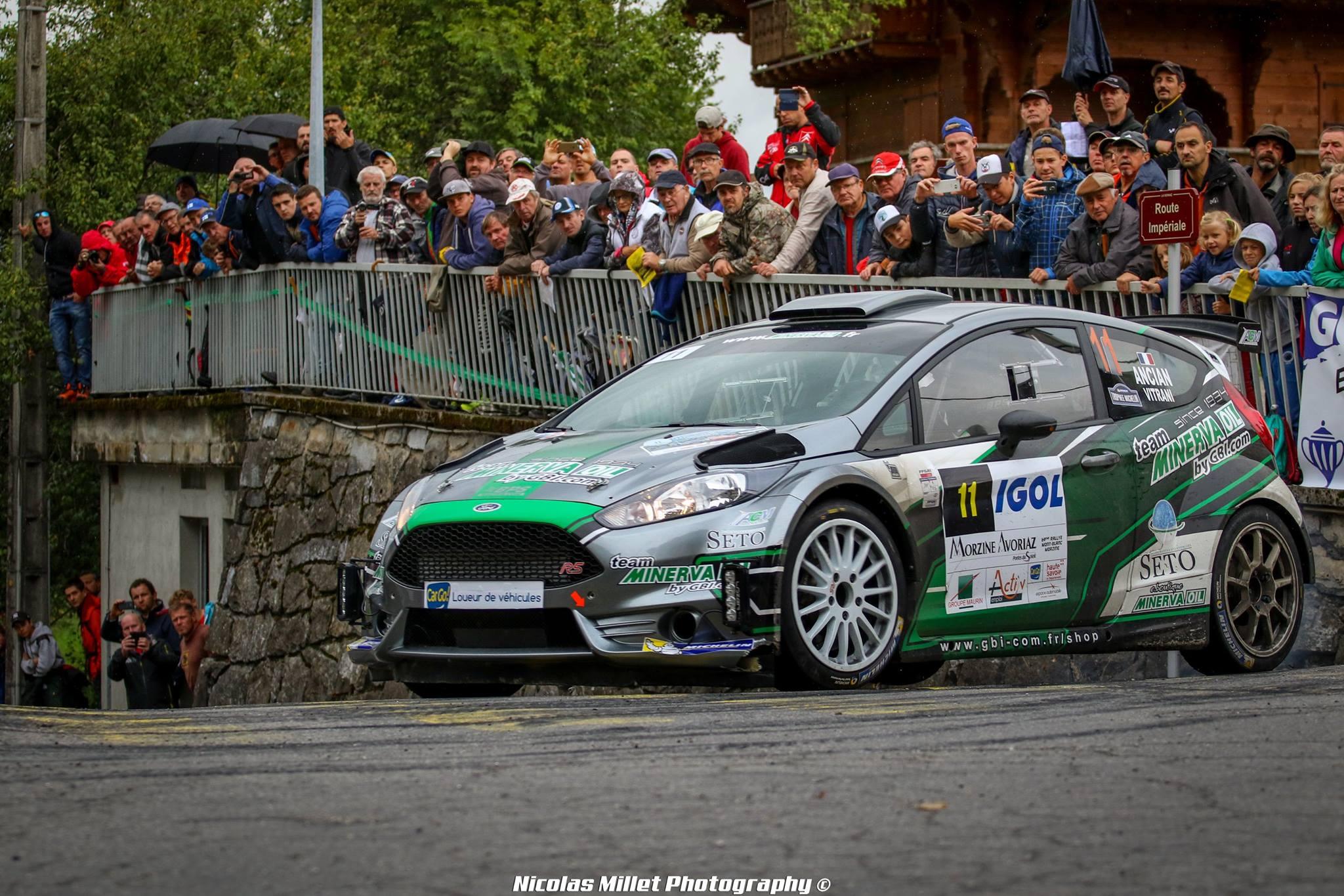 Rallye du Mont-Blanc 2017 Ancian