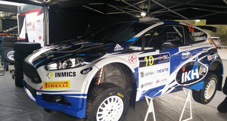 Rally Liepaja 2017 Qualifs