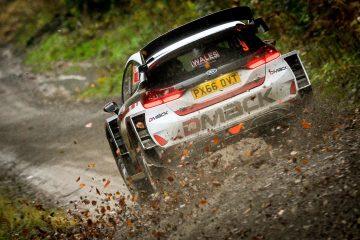 Shakedown du Wales Rally GB 2017
