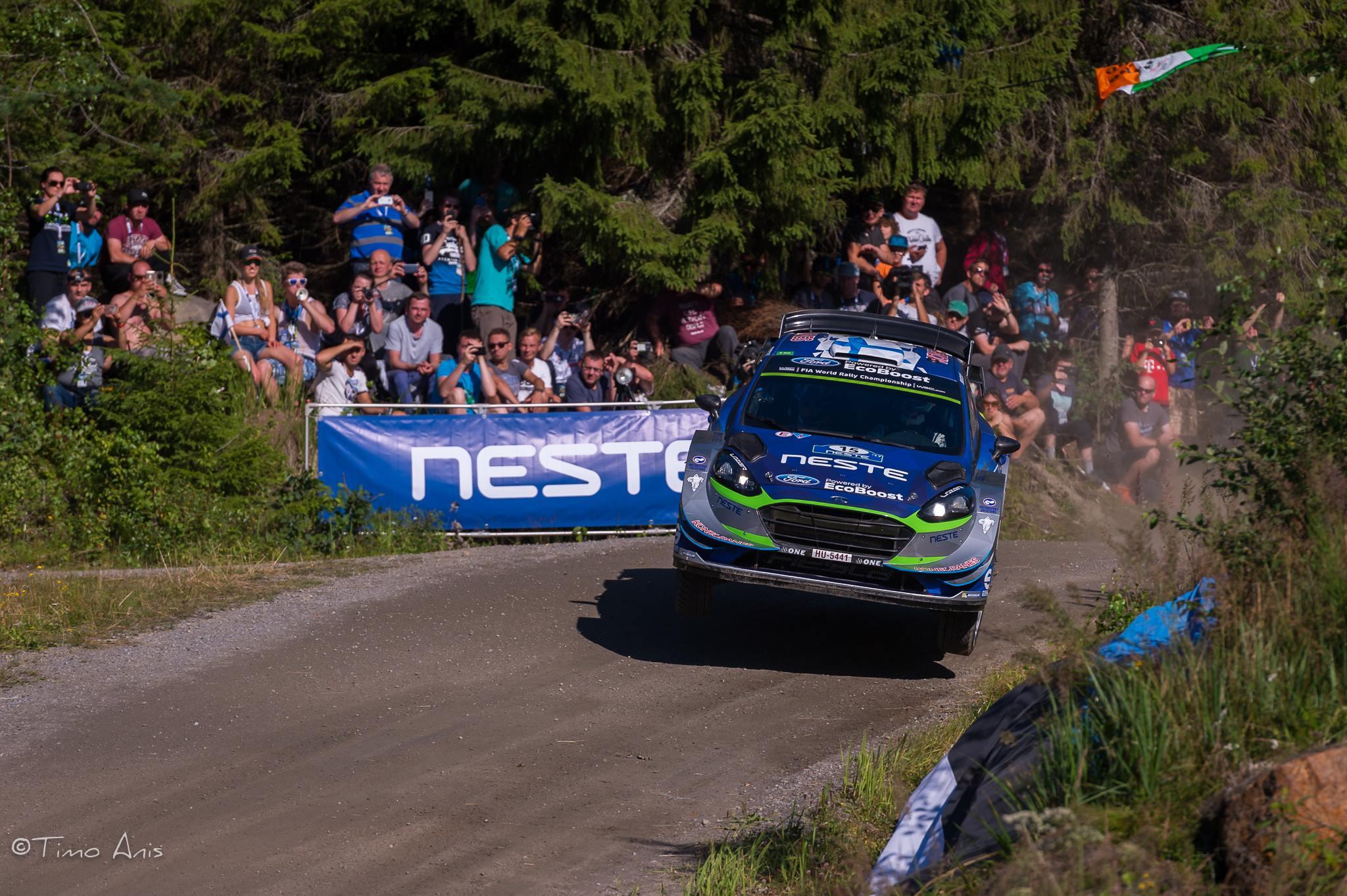 Suninen participera ensuite à 8 manches du WRC