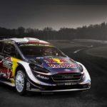 nouvelles couleurs de leur WRC pour 2018