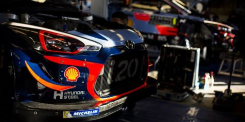 shakedown du Rallye Monte-Carlo 2018