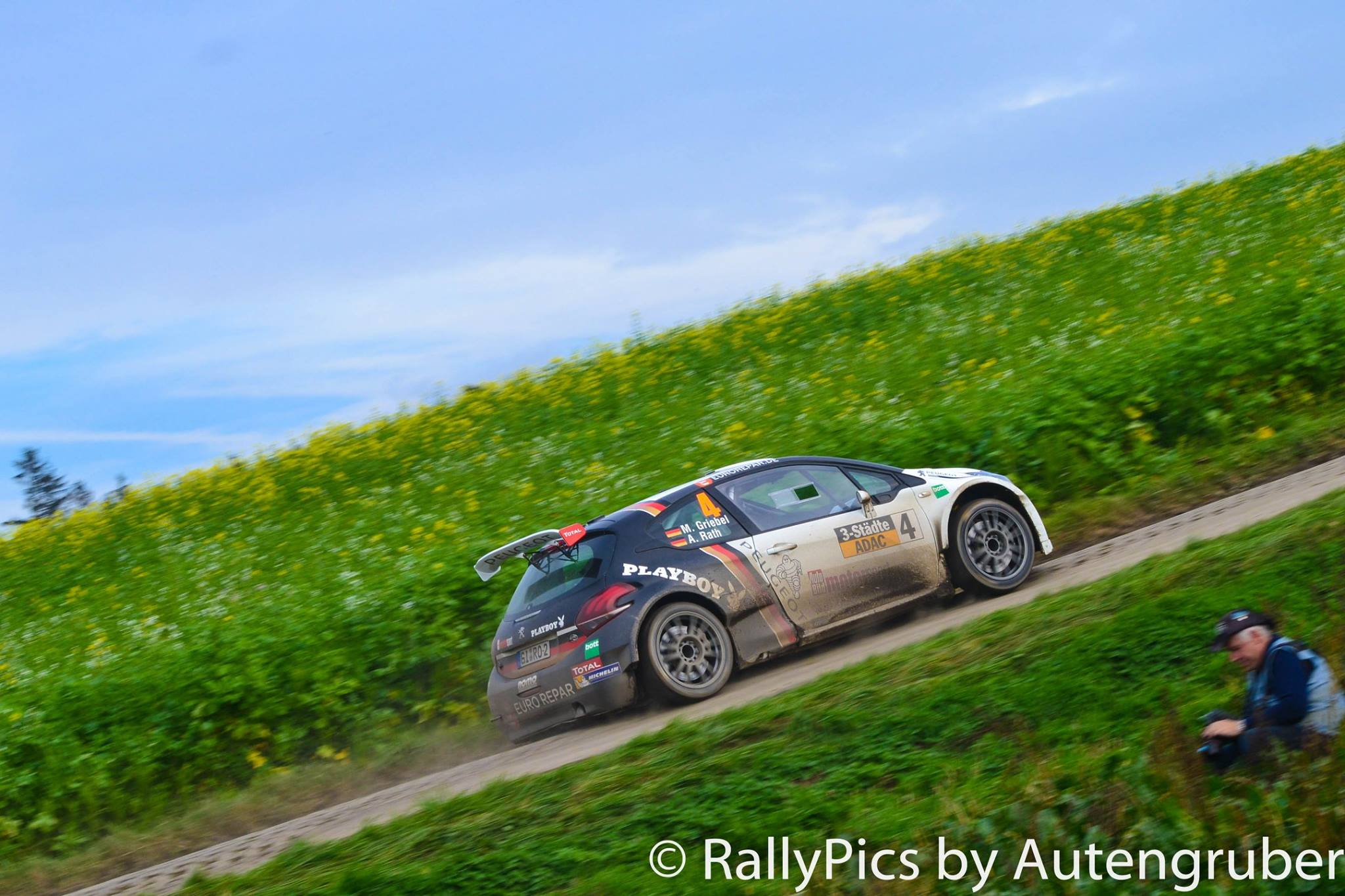 Griebel sera soutenu par Peugeot
