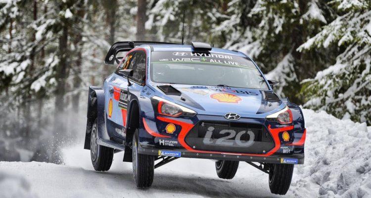 shakedown du Rally Sweden 2018