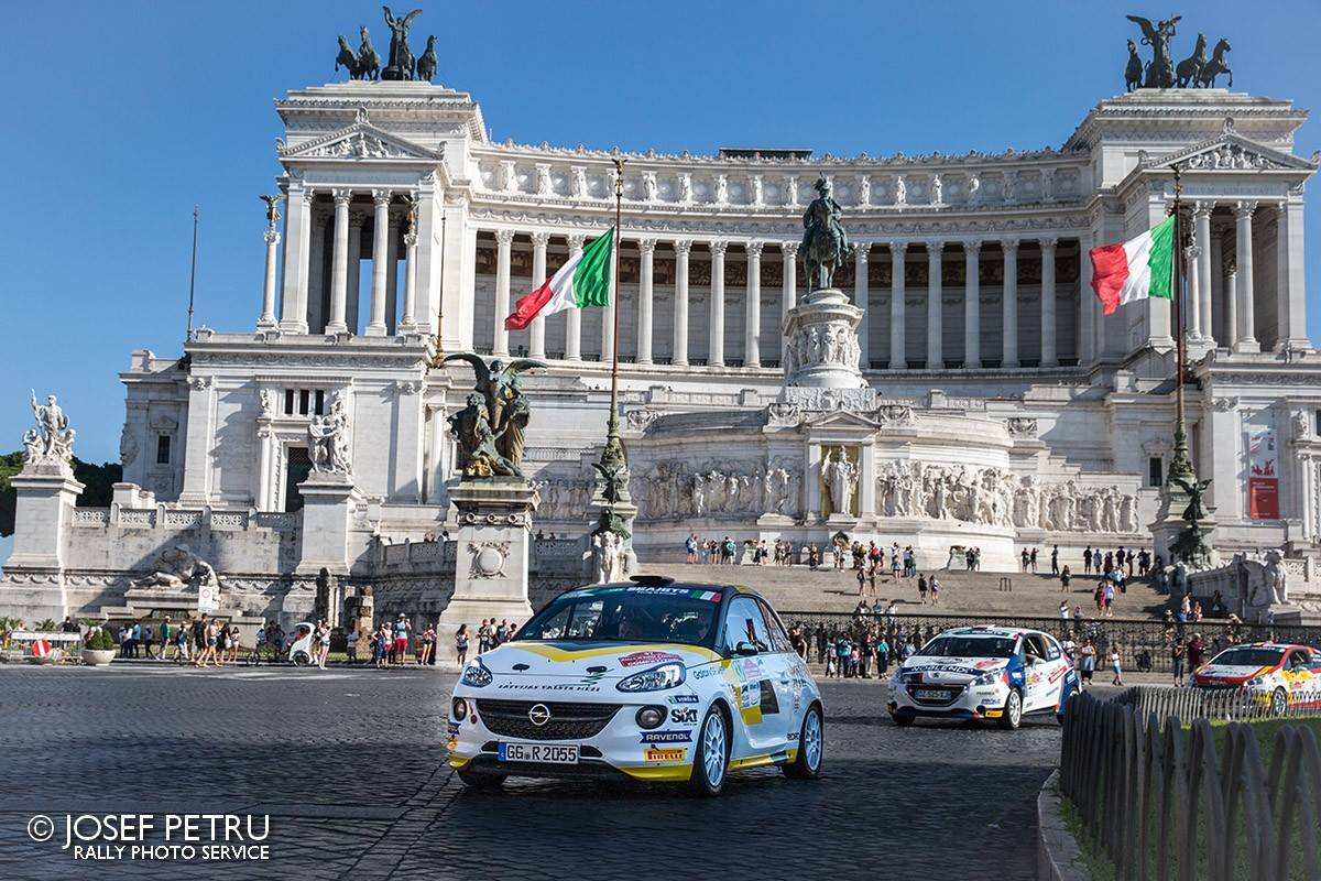 Rally di Roma Capitale 2018 & Championnat d'Europe