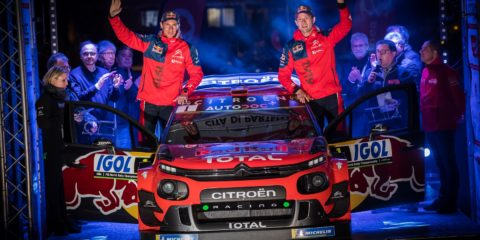 Ogier quitte Citroën