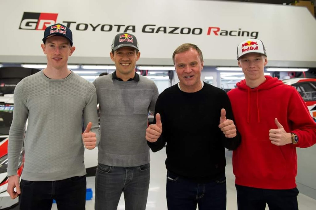 Toyota a présenté son line-up