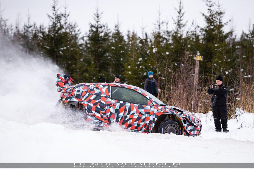 Toyota entamne déjà les tests de sa future Yaris WRC