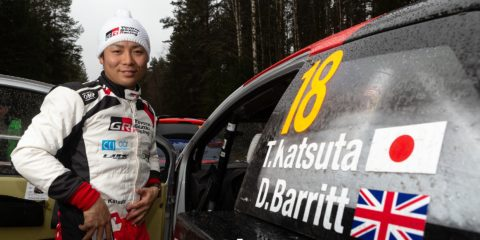 quatre rallyes pour Katsuta