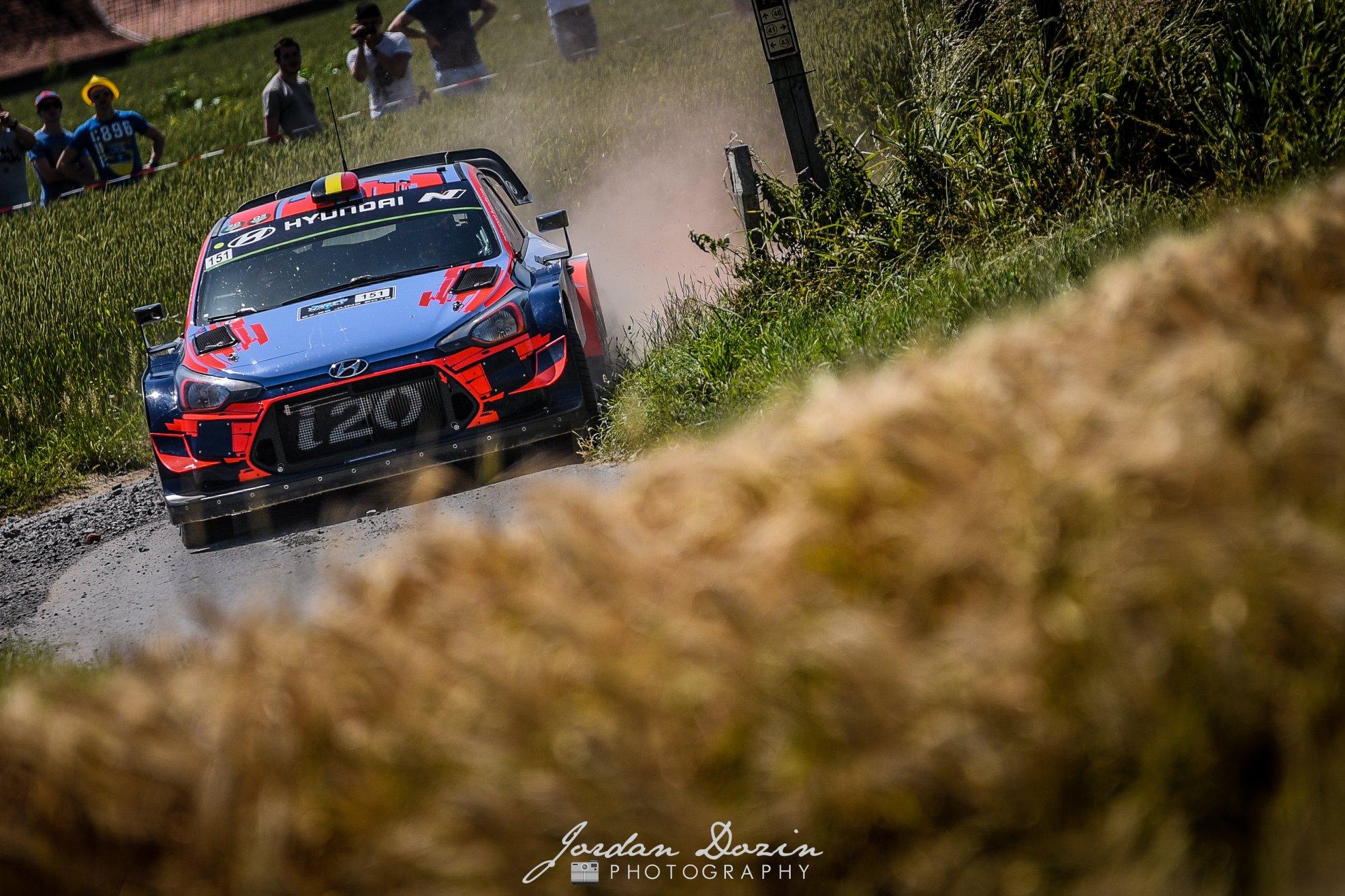 WRC fera escale en Belgique