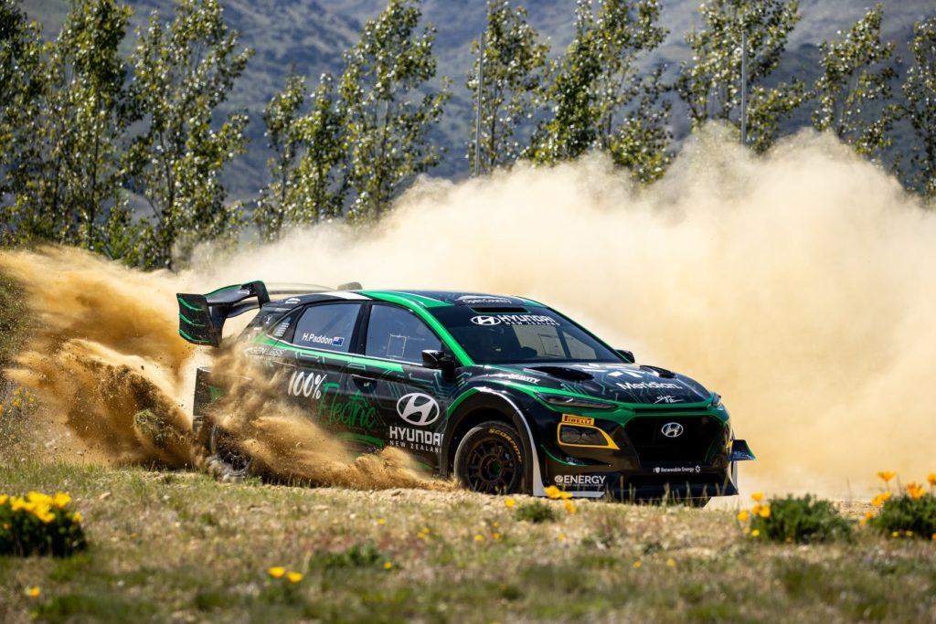 Paddon rallye 100% électrique