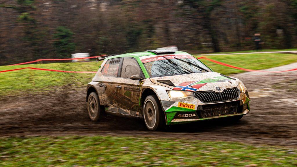 Mikkelsen WRC-2 ERC 2021