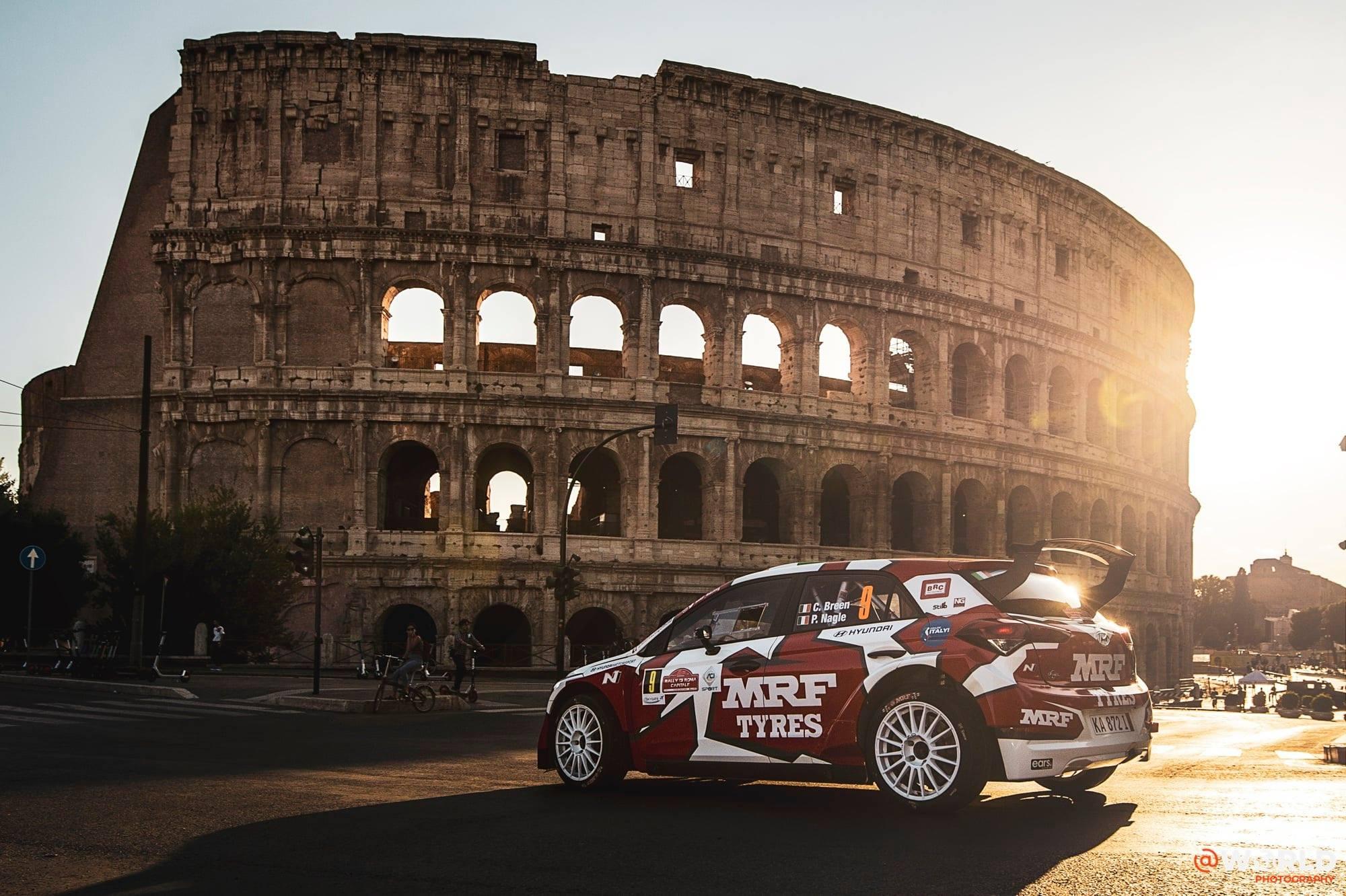 Rally Roma 2021